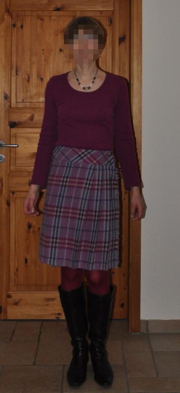 Faltenrock Burda 9 2002